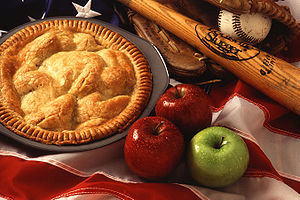 American cultural icons, apple pie, baseball, ...